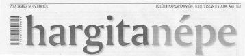 Sajtószemle 2012.01.19. - Hargita Megye Tanácsa
