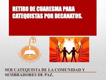 retiro de cuaresma para catequistas 2013