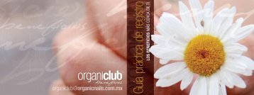 Guía práctica de registro - Organic Nails