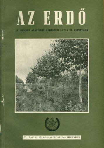 Letöltés egy fájlban (22,7 MB - PDF) - Erdészeti Lapok