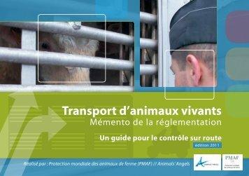PMAF - Transport d'animaux vivants - animal-transport.info