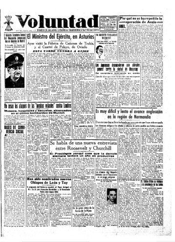 Voluntad 19440714 - Historia del Ajedrez Asturiano