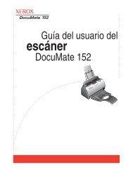 El escáner Xerox DocuMate 152 - Scanners