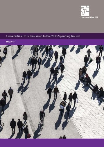Universities UK submission to the 2013 Spending Round