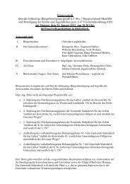 frühz. Bürgerbeteiligung 24.01.2011 - Amt Büsum