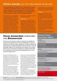September 2010 - Haven Amsterdam
