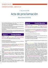 Acta de proclamación - Sindicato Médico del Uruguay