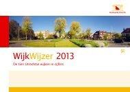 WijkWijzer 2013