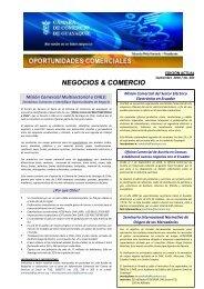 Boletín No. 3 - Cámara de Comercio de Guayaquil