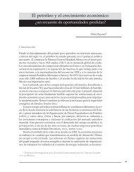 El petróleo y el crecimiento económico - Facultad de Economía ...