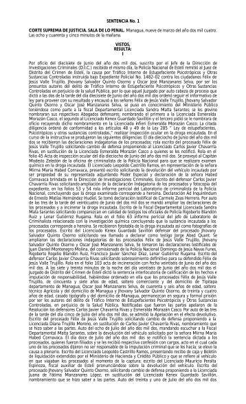 Jurisprudencia Codigo de Instrucción Criminal. - Poder Judicial