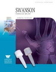 Swanson Trapezium Implant ST