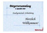 Bürgerversammlung 02092010 V1 - Schladming