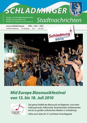 Ausgabe Juli 2010 - Schladming