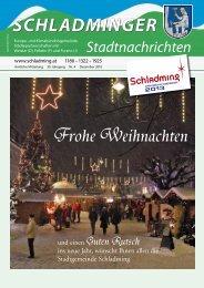 Ausgabe Dezember 2010 - Schladming