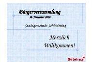 Bürgerversammlung 30112010 V1 - Schladming
