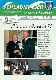 Hermann Kröll ist 70 - Schladming