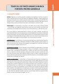 TRAFICUL DE FIINŢE UMANE - International Labour Organization - Page 7