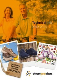 Technical info 2012-2013 - Choose your Shoes