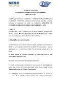 PROJETO MEIO AMBIENTE Concurso de ... - SESC Tocantins - Page 2