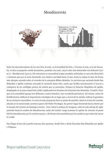 ruta en PDF - Itelazpi