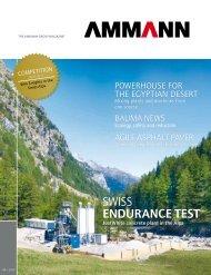 Kundenmagazin - Ammann Group