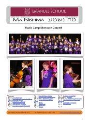 Volume 20 Issue 16 - Emanuel School