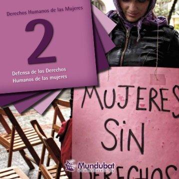 Defensa de los Derechos Humanos de las mujeres - Mundubat