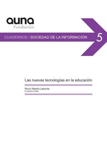 Las nuevas tecnologías en la educación - Biblioteca Universidad La ...