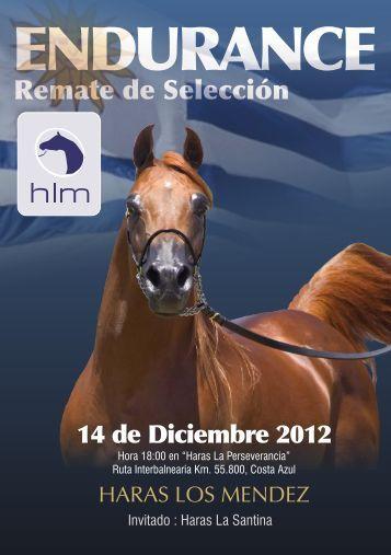 haras los mendez 2012 catalogo