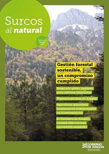 """revista """"Surcos al natural"""" - Gobierno de Aragón"""