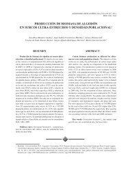 producción de biomasa de algodón en surcos ultra-estrechos y ...