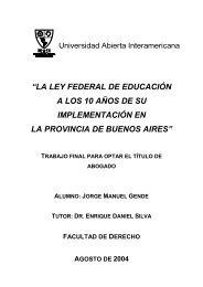 la ley federal de educación a los 10 años de su ... - Vaneduc