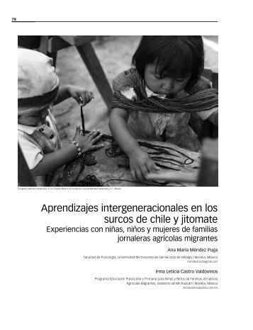 Aprendizajes intergeneracionales en los surcos de chile y jitomate