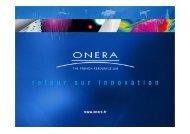 JSO ONERA Optimisation Multi-Disciplinaire 25 Janvier 2012