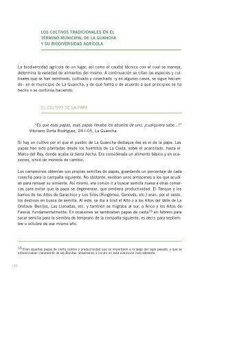 Capítulo II 2ª parte - AgroCabildo