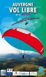 AVL guide 2012 - Ligue Auvergne de vol libre - Ffvl