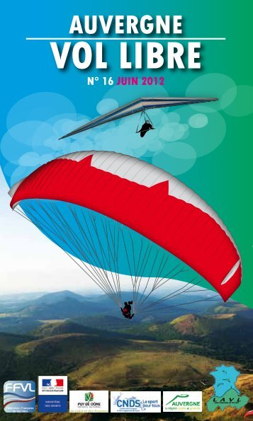AVL guide 2012 - Ligue Auvergne de vol libre - Ffvl