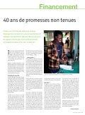 Objectifs du millénaire : le poids de l'incohérence Objectifs du ... - Page 7