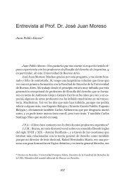entrevista al prof. dr. José Juan Moreso - Facultad de Derecho ...