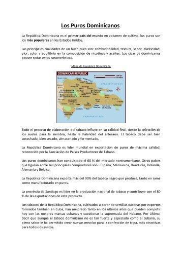 Los Puros Dominicanos - La Casa del Puro Dominicano, vente de ...