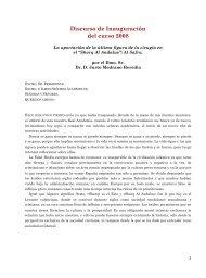 Discurso de Inauguración del curso 2008 - Real Academia de ...