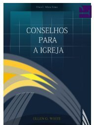 Conselhos para a Igreja - IASD Capão da Imbuia