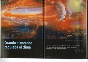 Cuando el metano regulaba el clima