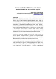 Economía extractiva. La explotación de la sal de mina en el territorio ...