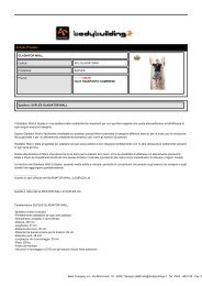 GLADIATOR WALL - Bodybuilding