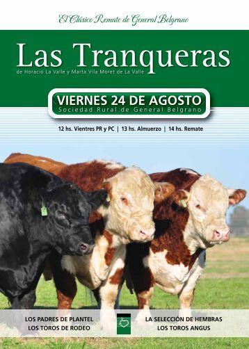 El Clásico Remate de General Belgrano - Las Tranqueras