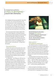 Leben in Bewegung – auch bei Demenz - Alzheimer Gesellschaft ...