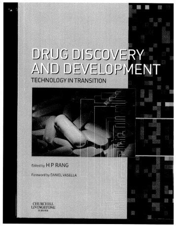 Chapters 1&2 of Drug Discovery and Development - Columbia ...