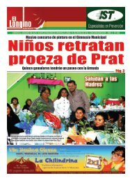 Saludan a las Madres - Diario Longino